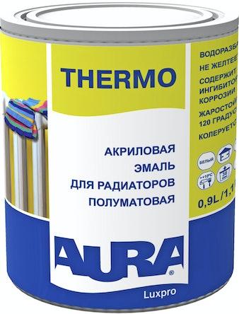Эмаль акриловая для радиаторов AURA TНERMO 0,9л