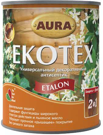 Антисептик декоративный AURA Ekotex Etalon бесцветный 0,7л