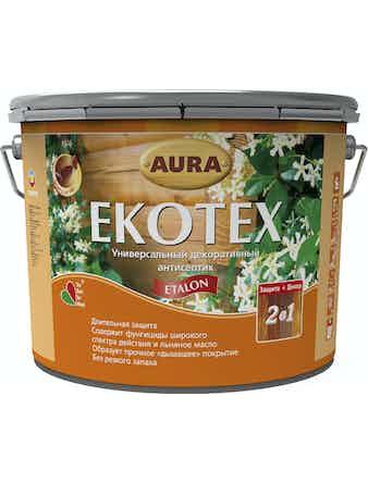 Антисептик декоративный AURA Ekotex Etalon бесцветный 3л