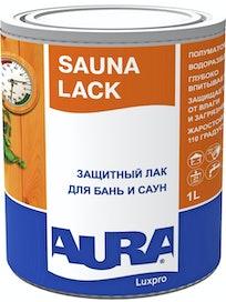 Лак акриловый для бань и саун AURA Sauna Lack 1л