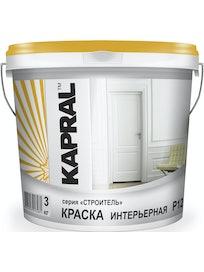 Краска интерьерная Kapral Р12, 3 кг
