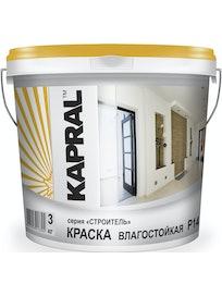 Краска влагостойкая Kapral Р14, 3 кг