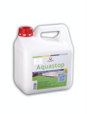 Грунт влагоизоляционный Eskaro Aquastop Bio, концентрат 1:5, 3 л