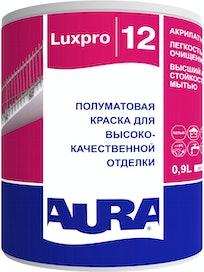 Краска моющаяся Aura Luxpro 12, полуматовая, 0,9л