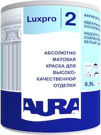 Краска для потолка Aura Luxpro 2, глубокоматовая, 0,9 л