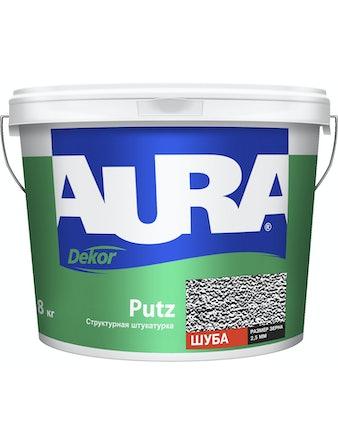 Штукатурка декоративная структурная AURA Dekor Putz шуба 2,5мм 8кг