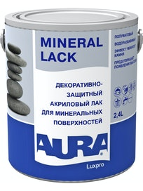 Лак для камня Aura Mineral Lack 2,4 л