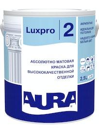 Краска для потолков акрилатная Aura Luxpro 2, 2,5 л