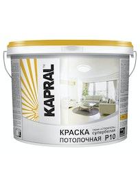Краска потолочная Kapral P10, 7 кг, белая