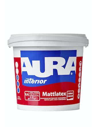 Краска моющаяся Aura Mattlatex, 0,9 л
