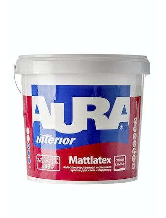 Краска моющаяся Aura Mattlatex, 2,7 л