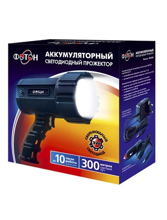 Фонарь аккумуляторный ФОТОН РВ-0501 (3W)