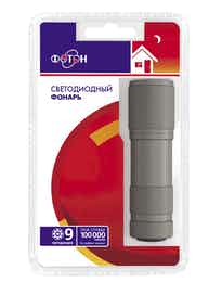 Фонарь ФОТОНMS-0809 (3хR03) Gun Metal