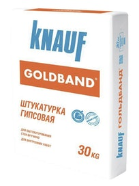 Штукатурка гипсовая Кнауф Гольдбанд, 30 кг