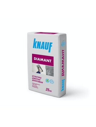 Штукатурка Кнауф Диамант белый 25 кг