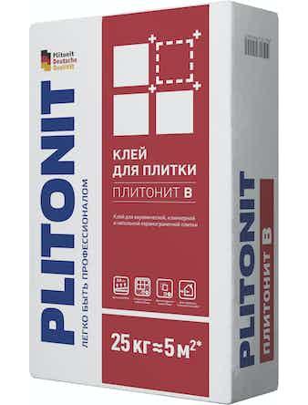 Клей для плитки Plitonit В, 25 кг