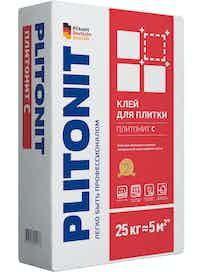 Клей для плитки Plitonit С, 25 кг
