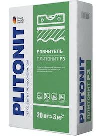 Ровнитель для пола Plitonit Р3, 20 кг