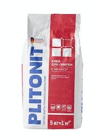 Клей для плитки PLITONIT С мрамор, 5 кг