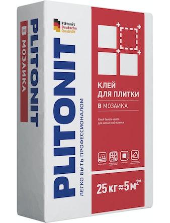Клей д/плитки PLITONIT В мозаика -25кг