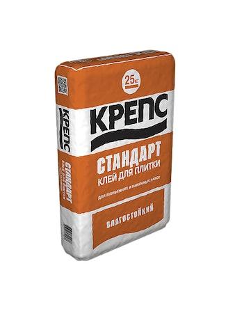 Клей плиточный Крепс Стандарт 25 кг