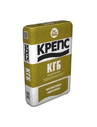 Клей для газобетона Крепс КГБ, 25 кг