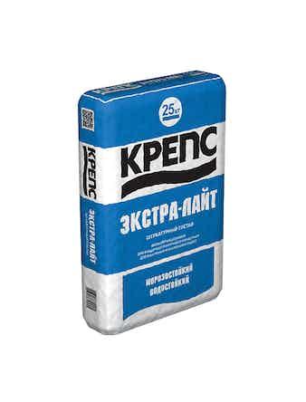 Штукатурка Крепс Экстра-лайт 25 кг