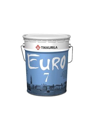 Краска EURO 7 осн.A белая 18л Tikkurila