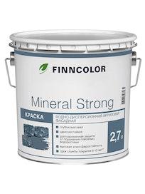 Краска фасадная Finncolor Mineral Strong, белая, 2,7 л