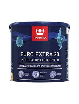 Краска EURO 20 основа C 2,7л Tikkurila