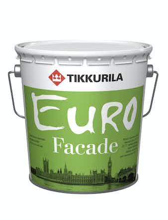Краска фасад. EURO FACADE KA 2,7л Tikkur