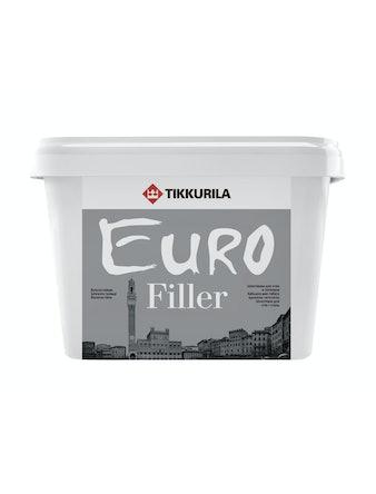 Шпатлевка влагостойкая EURO FILLER 3 л Tikkurila