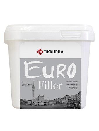 Шпатлевка влагостойкая EURO FILLER 1 л Tikkurila