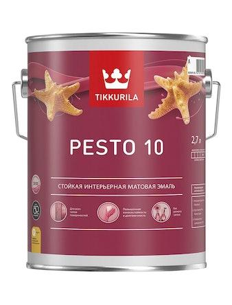 Эмаль Tikkurila Euro Pesto 10 A, матовая, 2,7 л