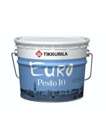 Эмаль Tikkurila Euro Pesto 10 С, матовая, 2,7 л