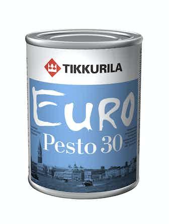 Эмаль Tikkurila Euro Pesto 30 С, полуматовая, 0,9 л
