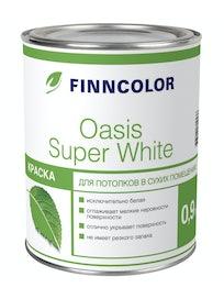 Краска д/потолков OASIS SUPER WHITE 0,9л