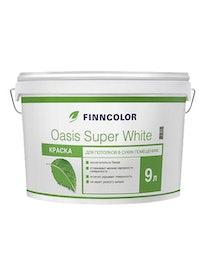Краска д/потолков OASIS SUPER WHITE 9л