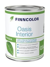 Краска Oasis Interior, база A, интерьерная, 0,9 л