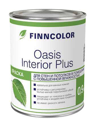 Краска интер. OASIS INTERIOR PLUS A 0,9л