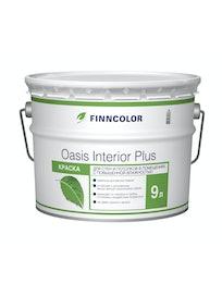 Краска Oasis Interior Plus, база A, интерьерная, 9 л