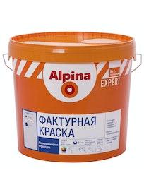 Краска фактурная Аlpina Expert, матовая, база 1, 15 кг