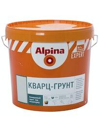 Кварц-грунт Alpina Expert, матовый, база 1, 16 кг