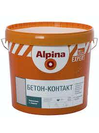 Грунт бетон-контакт Alpina Expert, 16 кг
