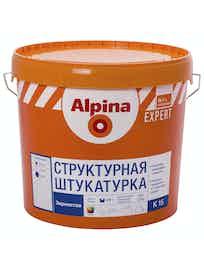 Штукатурка структурная Аlpina Expert K 15, зернистая, база 1, 16 кг