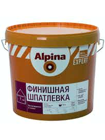 Шпатлевка финишная Аlpina Expert, 18 кг