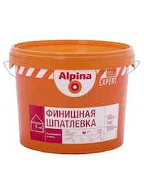 Шпатлевка финишная Аlpina Expert, 4,5 кг