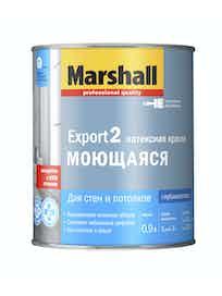 Краска Marshall Export-2 матовая BW, 0,9 л