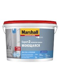 Водно-дисперсионная краска Marshall Export-2, база BC, матовая, 9 л