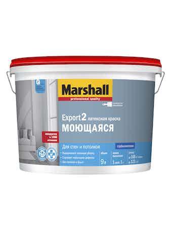 Краска Marshall Export-2 база матовая BC 9 л